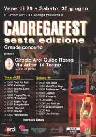 CADREGAFEST SESTA EDIZIONE 2012