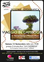""""""" viaggio in Cambogia""""MOSTRA Fotografica"""