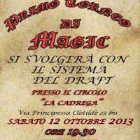Primo torneo di Magic a La Cadrega